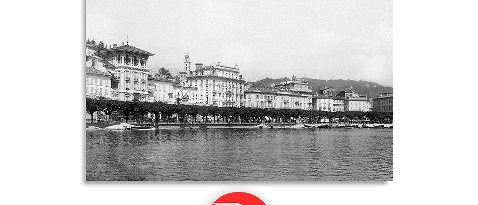 Lugano il Quai anno 1940 c.a.