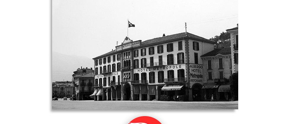 Locarno hotel Metropole anno 1920 c.a.