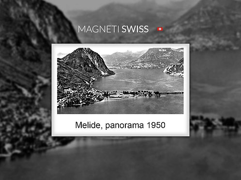 Melide, panorama 1950