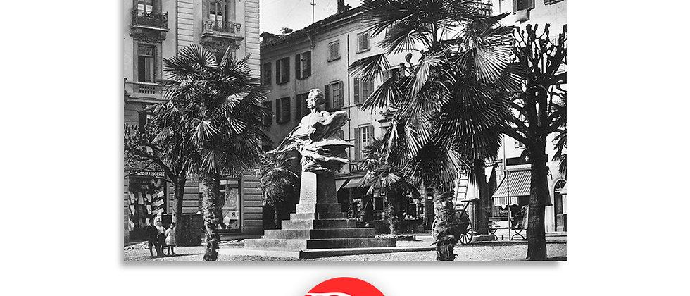 Lugano piazza B.Luini anno 1930 c.a.