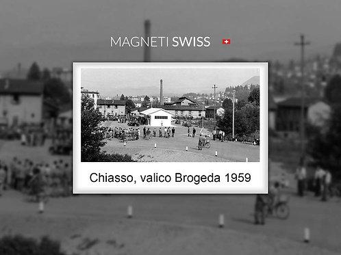 Chiasso, valico Brogeda 1959