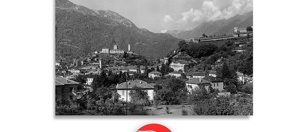 Bellinzona vista dal Dragonato anno 193 c.a.