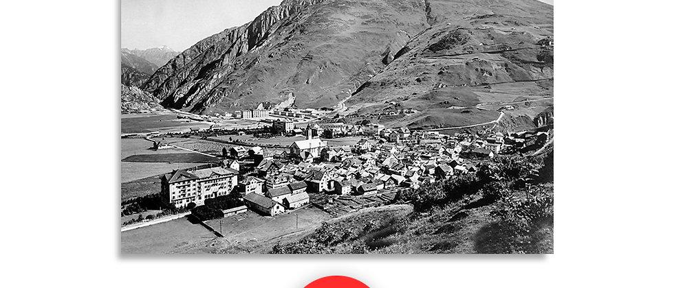 Andermatt panorama anno 1940 c.a.