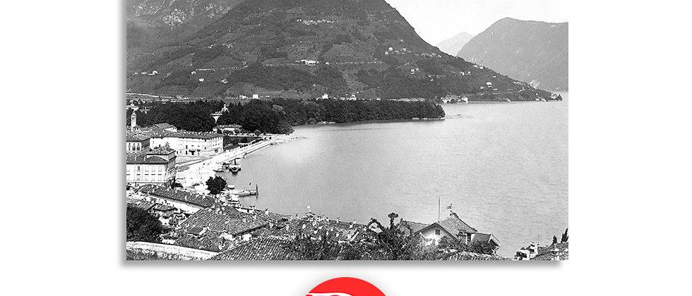 Lugano e monte Brè anno 1880 c.a.