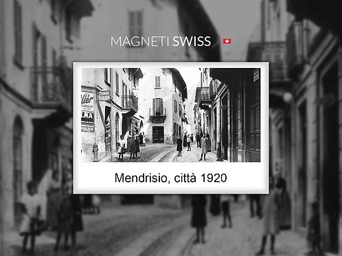 Mendrisio, città 1920