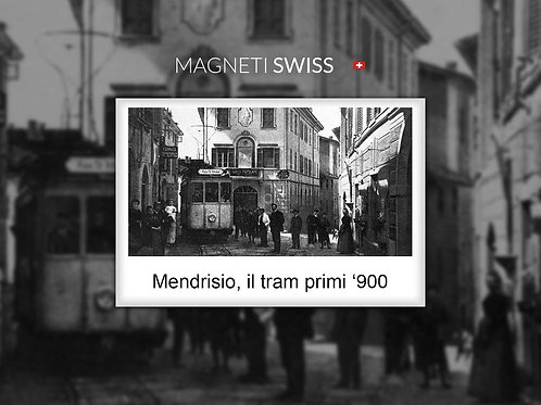 Mendrisio, il tram primi '900