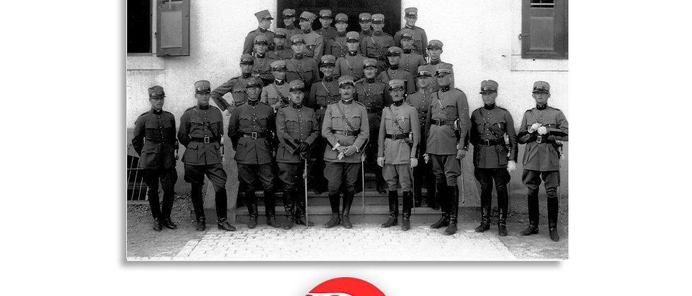 Caserma, foto di gruppo anno 1928 c.a.