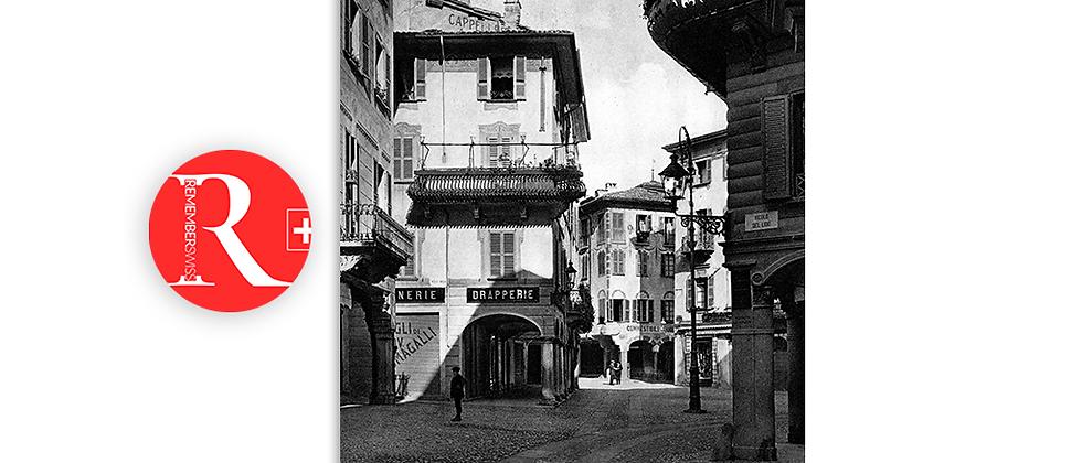 Lugano piazza Maraini primi '900