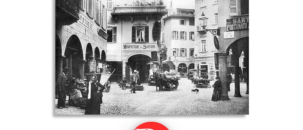 Lugano via Nassa primi '900