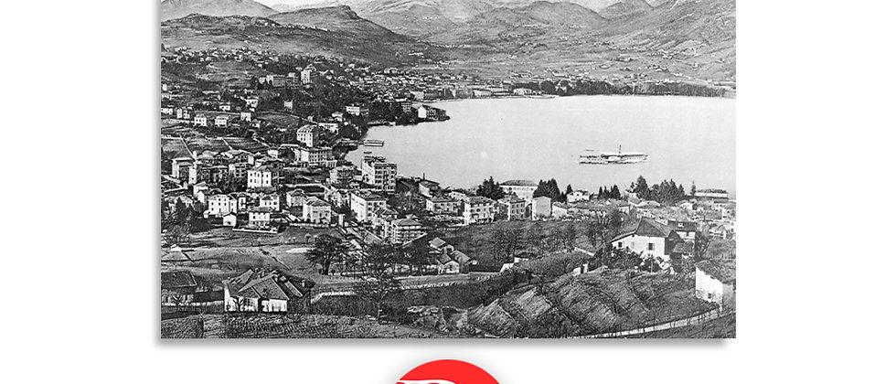 Lugano panorama primi '900