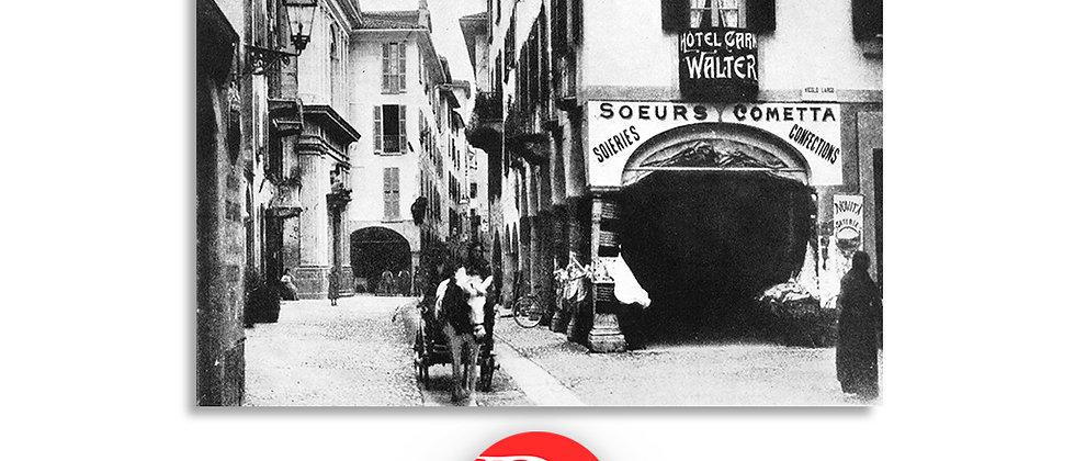 Lugano via Nassa fine '800