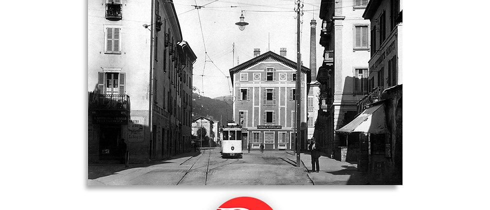 Lugano piazza Molino Nuovo anno 1935 c.a.