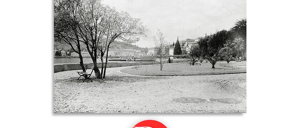 Lugano parco Ciani anno 1890 c.a.