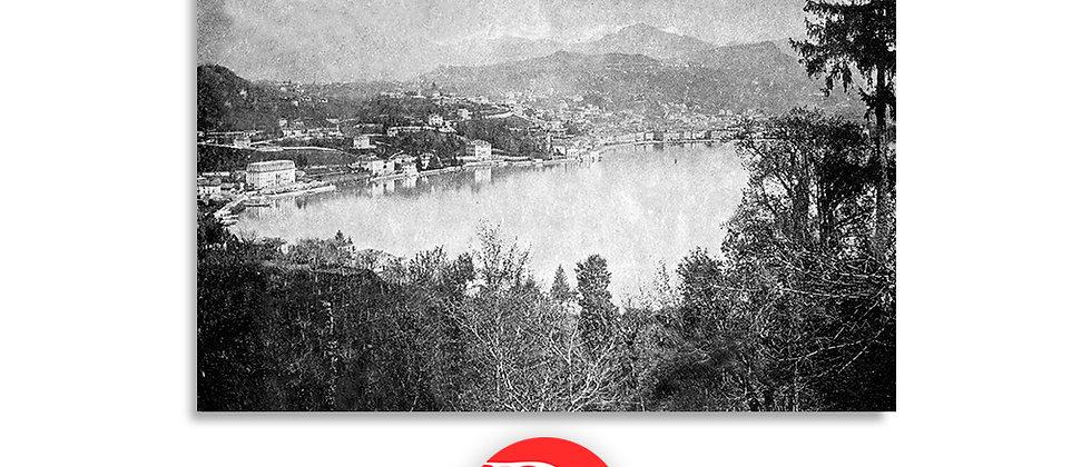 Lugano panorama anno 1910 c.a.