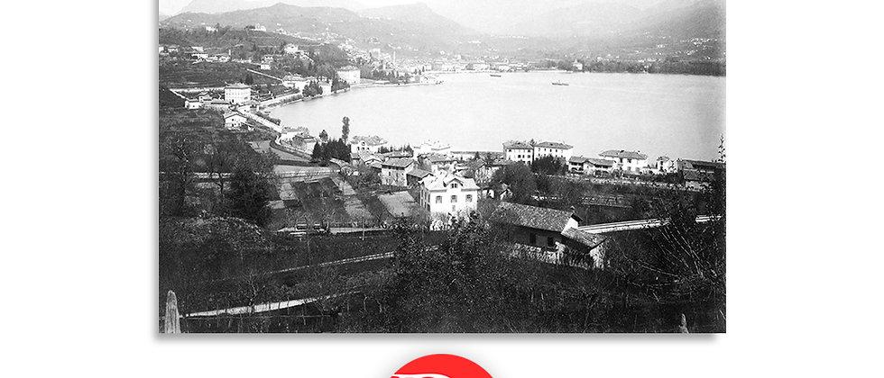 Lugano veduta anno 1885 c.a.