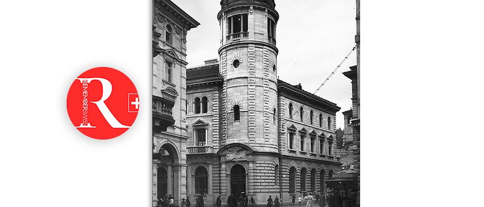 Lugano palazzo Postale anno 1939 c.a.