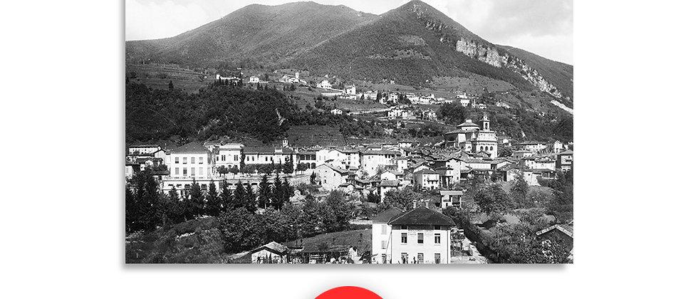 Mendrisio panorama anno 1965 c.a.
