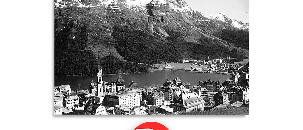 St.Moritz Dorf anno 1950 c.a.