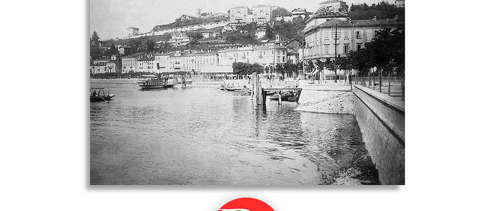 Lugano lungolago 1890 c.a.