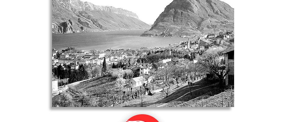 Lugano e monte S. Salvatore anno 1901 c.a.