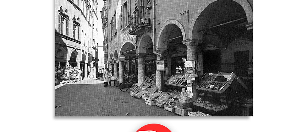 Lugano via Pessina anno 1950 c.a.