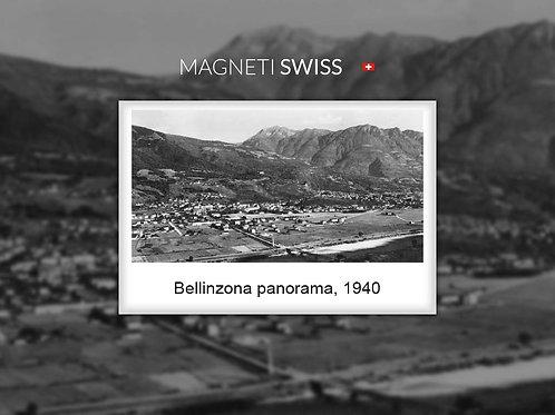 Bellinzona panorama, 1940