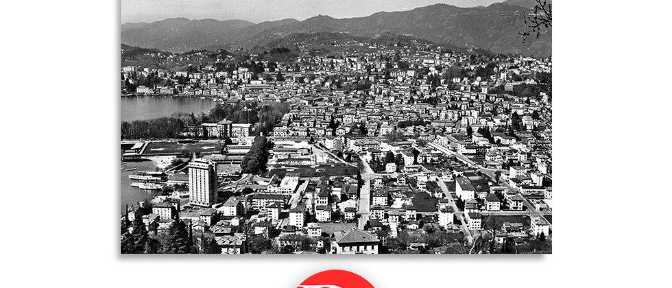 Lugano panorama anno 1960 c.a.