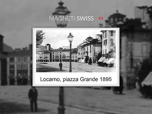 Locarno, piazza Grande 1895