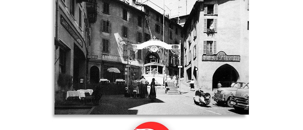 Lugano funicolare anno 1950 c.a.
