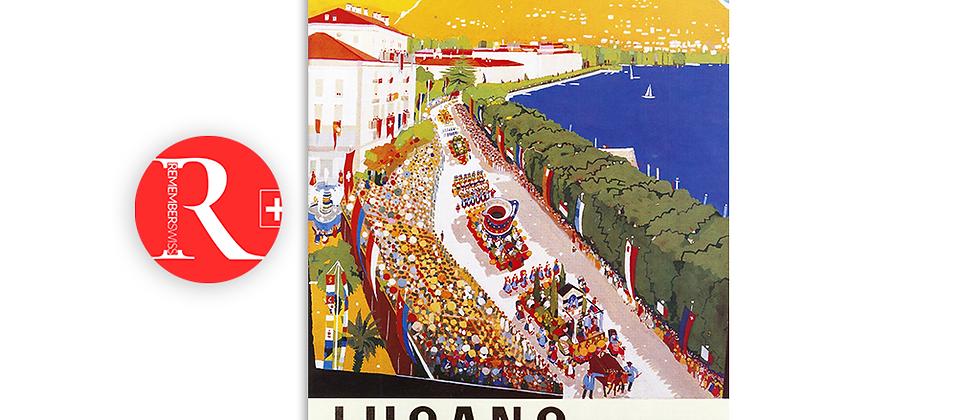 Festa della Vendemmia, Lugano 1960