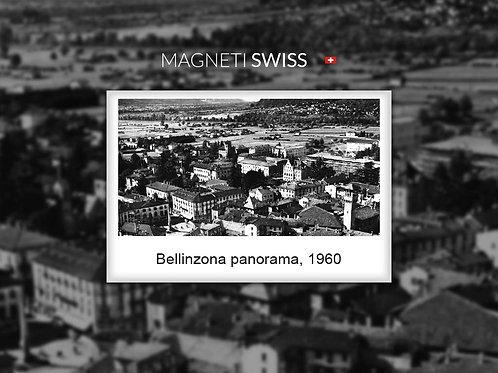 Bellinzona panorama, 1960