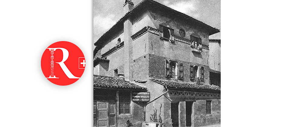 Lugano la Piccionaia, corso Pestalozzi primi '900