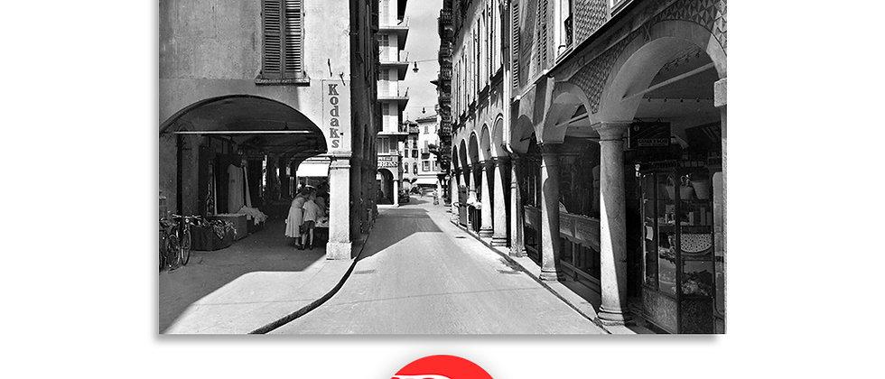Lugano via Nassa anno 1945 c.a.