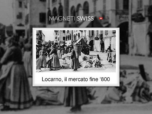 Locarno, il mercato fine '800