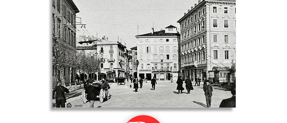Lugano piazza Giardino anno 1930 c.a.