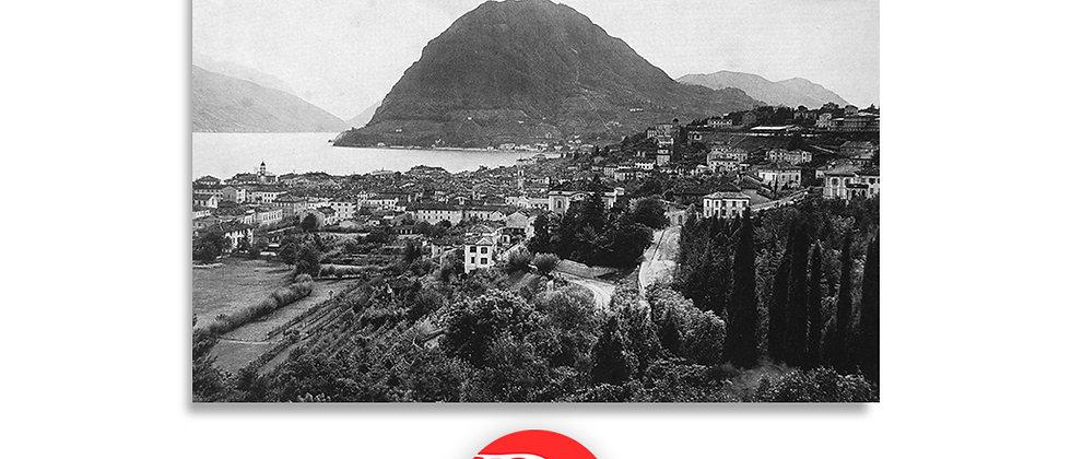 Lugano e monte S.Salvatore fine '800