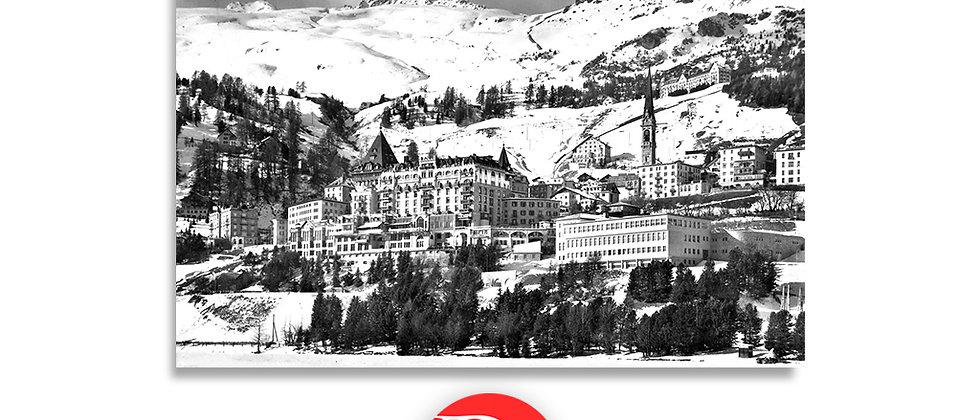 St.Moritz veduta anno 1950 c.a.