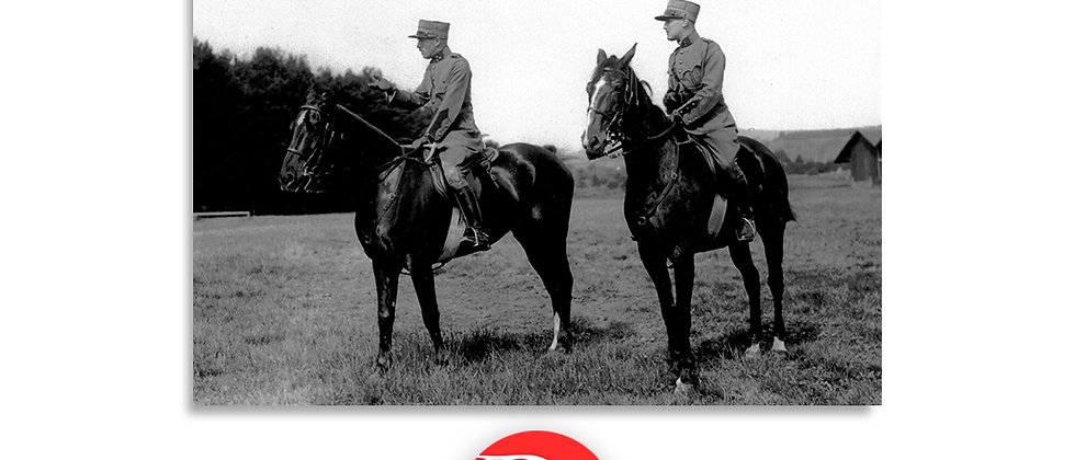 Comandanti a cavallo anno 1928 c.a.