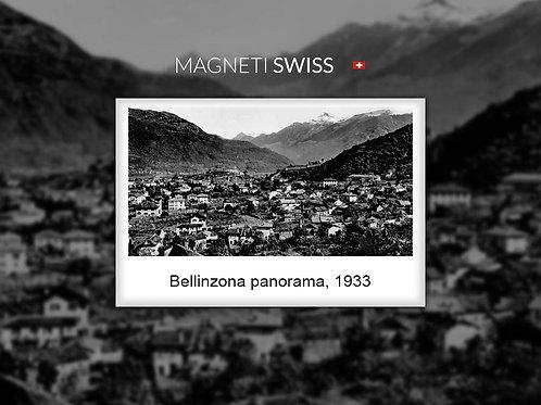 Bellinzona panorama, 1933