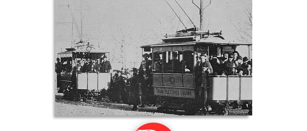 Lugano il tram elettrico fine '800