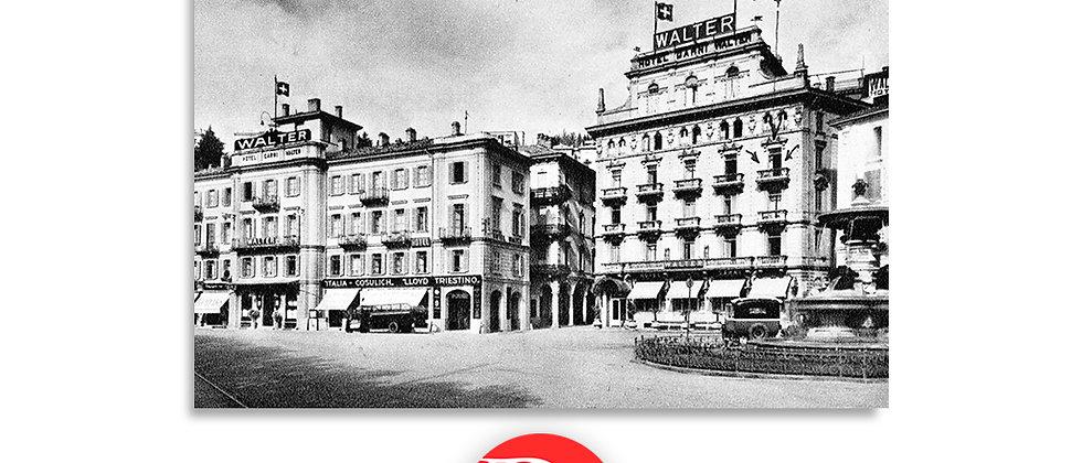 Lugano Hotel Walter anno 1930 c.a.