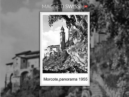 Morcote, panorama 1955