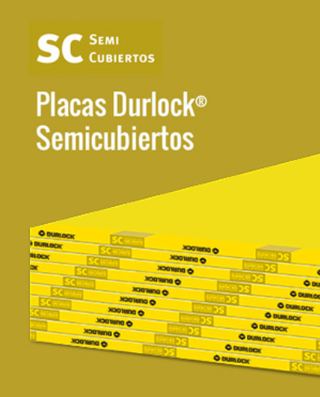 Placa Durlock Semicubiertos