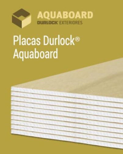 Placa Durlock Aquaboard