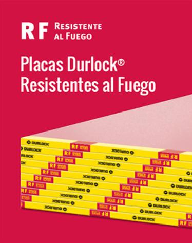 Placa Durlock Resistente al fuego