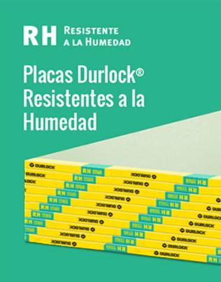 Placa Durlock resistente a la humedad