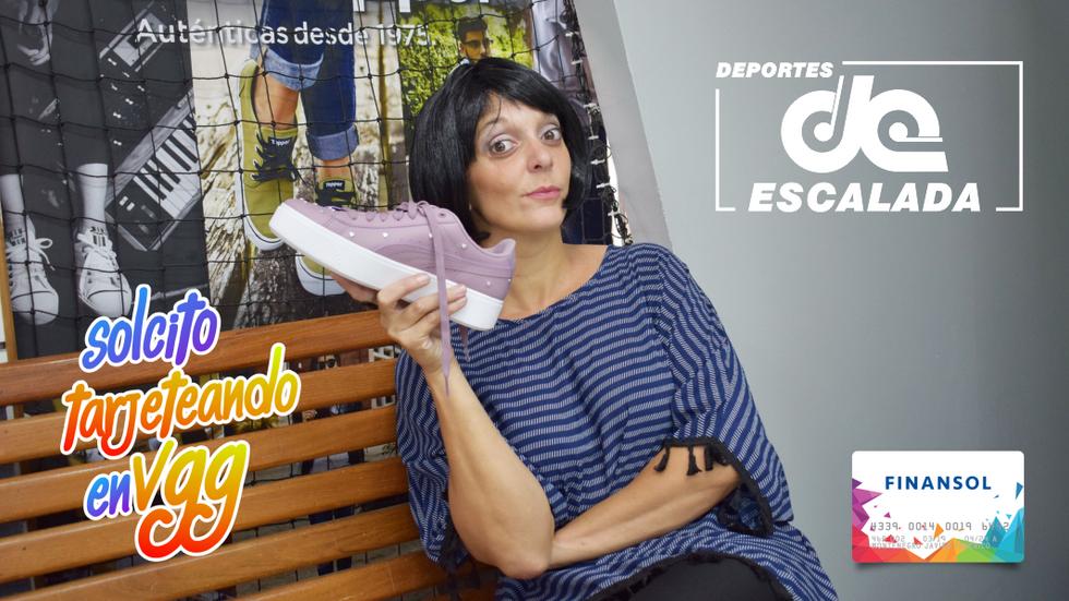 Mirá el video de Solcito en Deportes Escalada!
