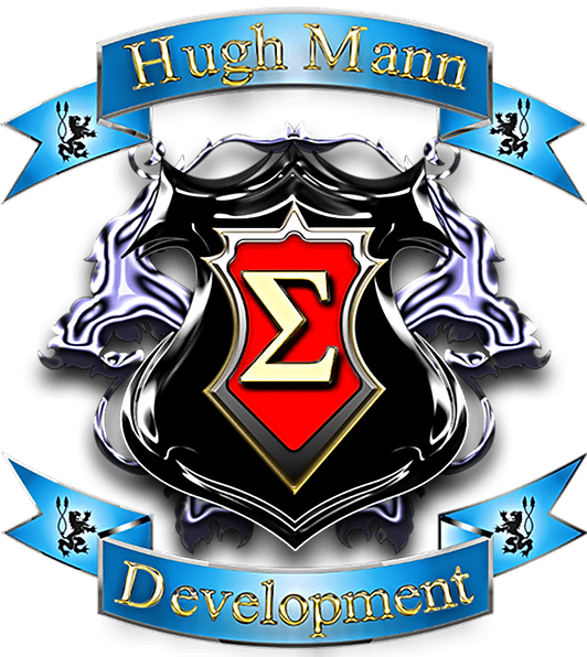 This is the Crest Logo for Hugh Mann Development.