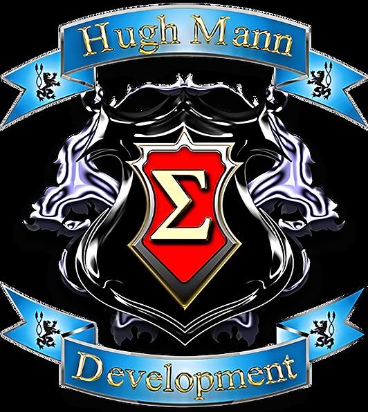 Hugh Mann Development Crest logo