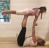 yoga para madres e hijas